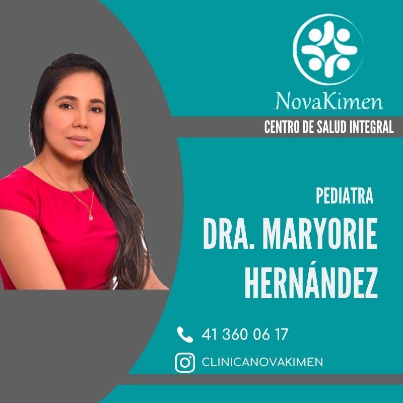 Dra. Maryorie Hernández